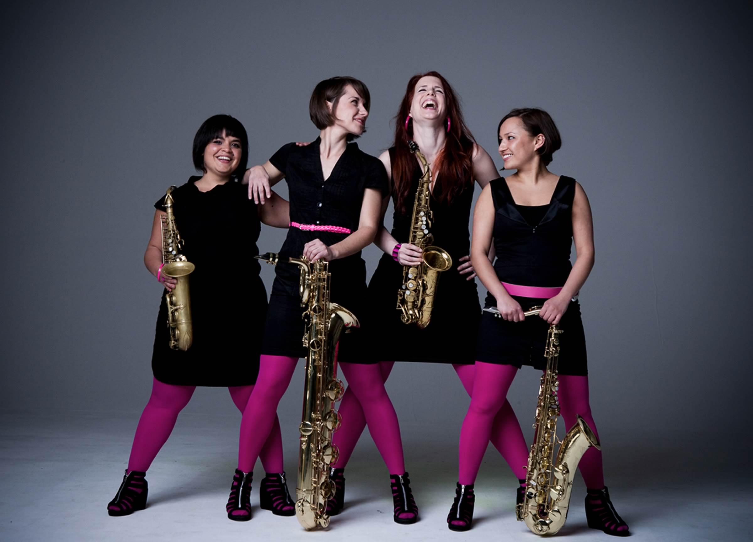 Famdüsax – Das Saxophon Quartett